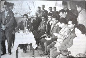 1955، الطيب بن بوعزة في الاتحاد المحلي بوجدة