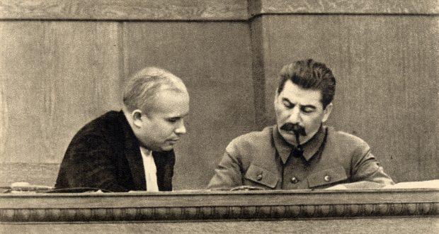 ستالين وخروتشوف سنة 1936